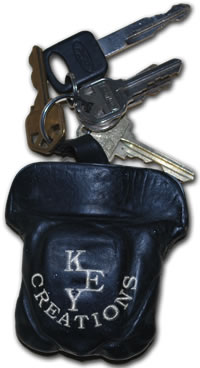 The Key Creations Custom Embroidered Key Pouch