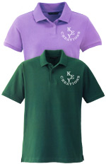 Embroidery on Polo Shirts